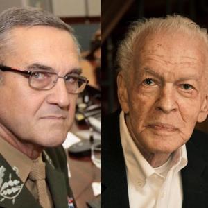Gen. Villas Bôas comandante do Exército Brasileiro e o Dr. Gene Sharp, o pai da Desobediência Civil Não Violenta